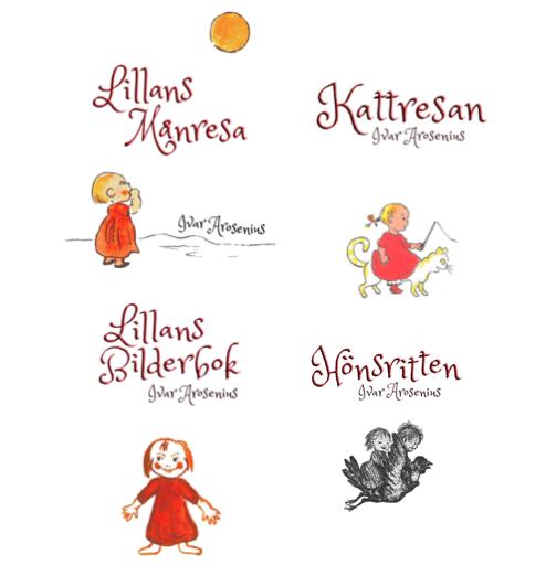 Bilderböcker av Ivar Arosenius